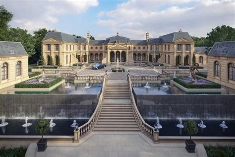 Mansions Designs by Amazing Mega Mansion Design Le Domaine