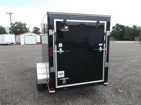 2016 Covered Wagon Trailers 5x8 Cargo  Motorcycle Trailer