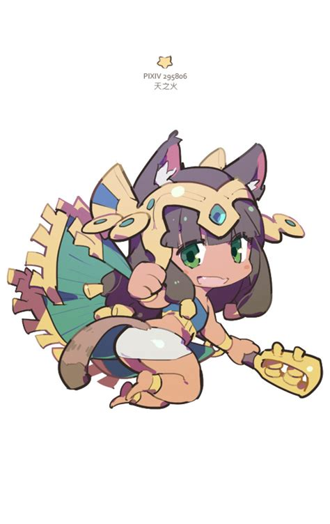 puzzle and dragons bastet q by nnnnoooo007 on deviantart