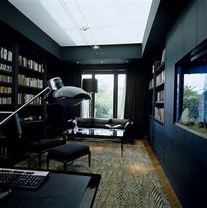 Paredes con Interiores en Color Negro Interiores