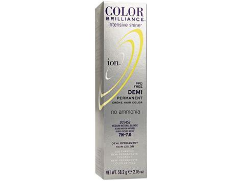 Ion Intensive Shine Demi Permanent Creme Hair Color, 7n