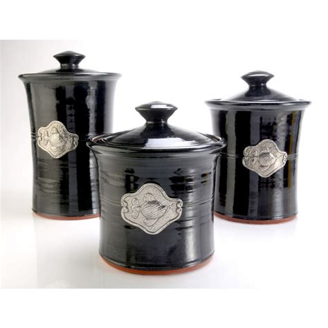black canisters for kitchen black kitchen canister sets 17 images better homes and