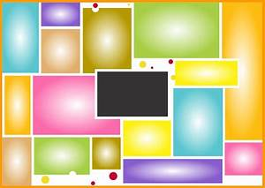 birthday collage templates free download freebek With picture collage templates free download