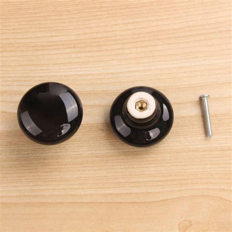 pull handle ceramic door knobs cabinet drawer wardrobe