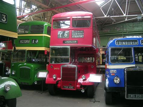 File:Manchester Transport Museum buses TRJ 112 and TNA 496 ...