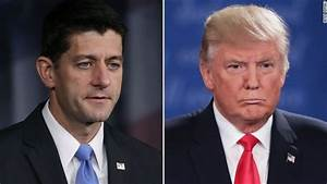 Paul Ryan said he won't defend Donald Trump - CNNPolitics