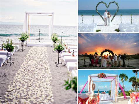 beach wedding decorations  festive inspiration details