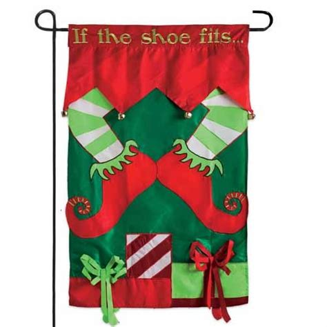 if the shoe fits garden flag garden flags on sale