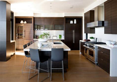 photos de belles cuisines modernes prestigieuse maison moderne avec vue sur la mer à