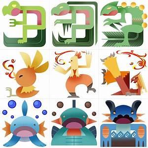 Pokemonster Hunter Gen 3 Starters By Gryphon Shifter On