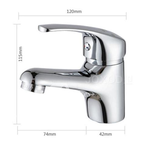 chrome kitchen faucet brass single hole bathroom silver modern