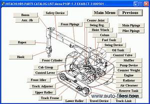 Hitachi Excavator Medium Size  U0026 Crane  Spare Parts