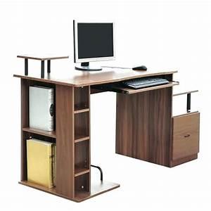Meuble Pour Bureau : meuble pour ordinateur et imprimante 41998 ~ Teatrodelosmanantiales.com Idées de Décoration