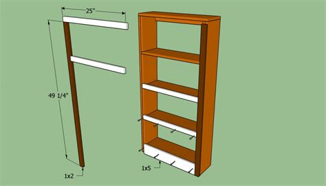 how to secure bookcase to wall how to build a bookcase wall howtospecialist how to