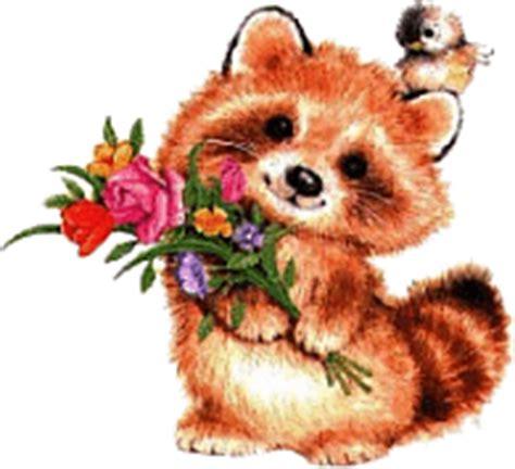 bosje bloemen plaatjes plaatje wasberen 187 animaatjes nl