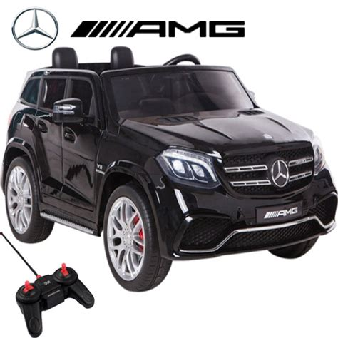 Large Electric Cars by Licensed 24v 4wd 2 Seater Big Mercedes Gls Amg Jeep