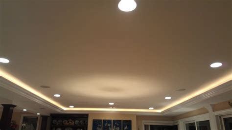 recessed ceiling crown molding crown 6 quot can lights with led lighting in crown molding yelp