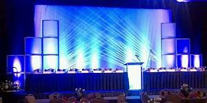 Conference event stage designs – Concept Design Productions