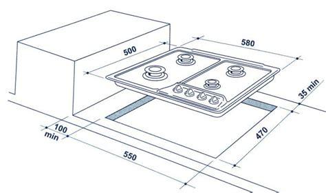 Dimensioni Piano Cottura 4 Fuochi by Misure Piano Cottura 4 Fuochi Tovaglioli Di Carta