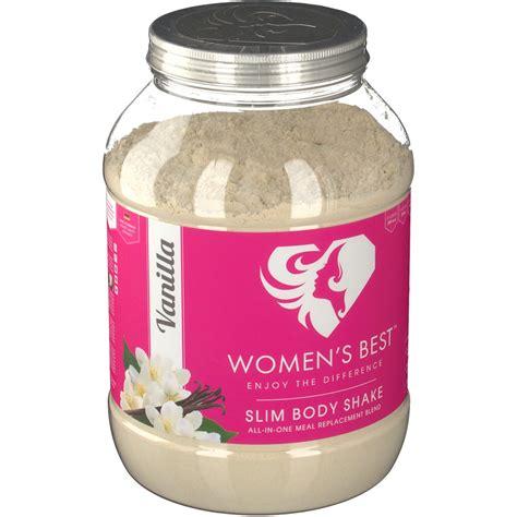 WOMEN'S BEST Slim Body Shake Vanille shopapothekecom