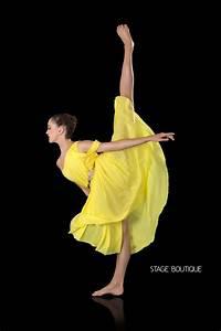 LYRICAL DRESS - POLISHED, $69, Yellow Slow Modern Dance ...
