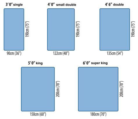standard mattress size king size mattress