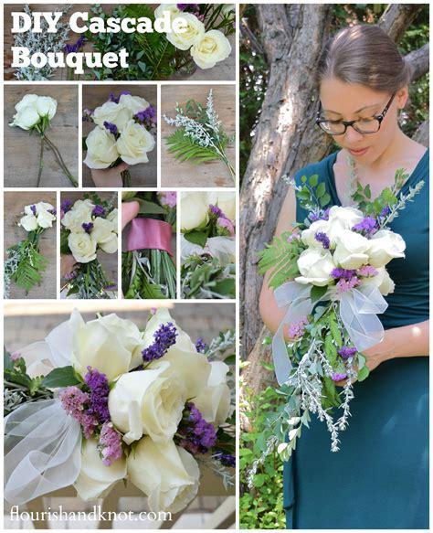 How To Create A Cascade Bouquet