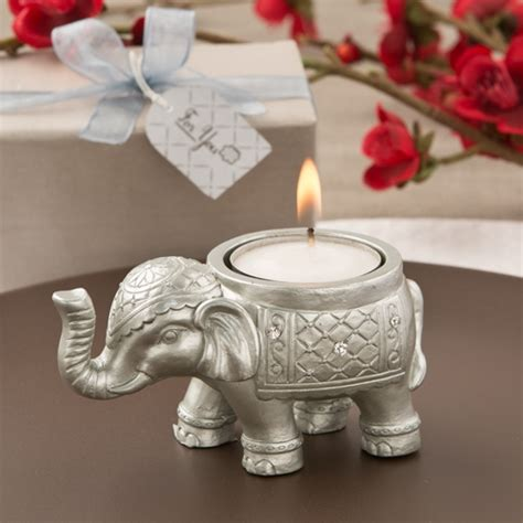elephant candle holder luck silver indian elephant candle holder on