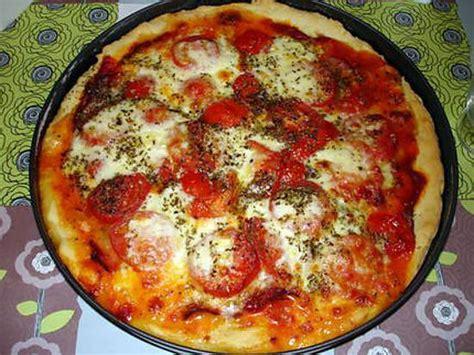 recette de pizza jambon de parme mozzarella et origan