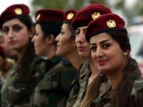 Women at War: Meet the Female Peshmerga Fighters Taking on ...