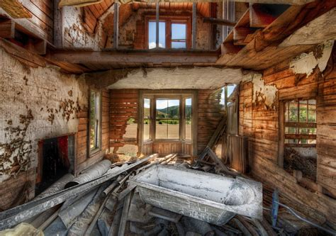 abandoned farmhouse  place     thos flickr