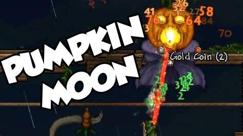 Terraria Pumpkin Moon Medallion Recipe by Terraria 1 2 1 Pumpkin Moon Event Pumpking Boss