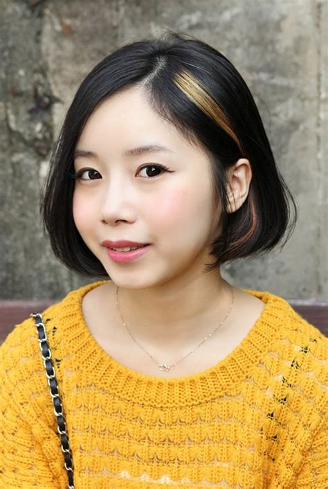 sweet asian   bob hairstyle  girls hairstyles weekly