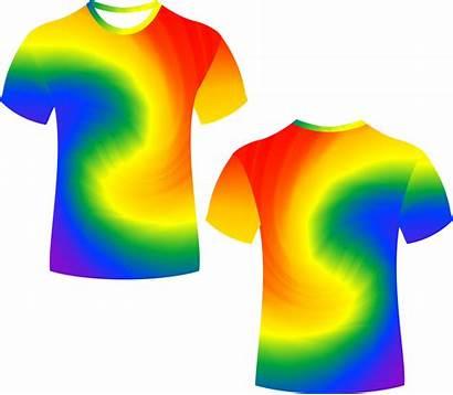 Clipart Tie Dye Shirt Shirts Transparent Dyed