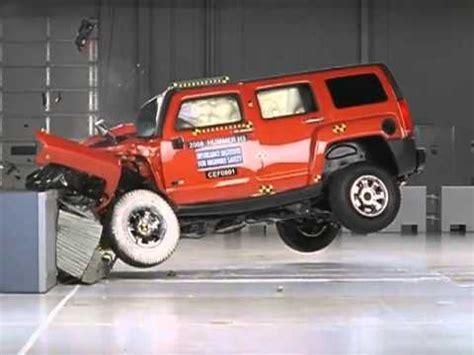 hummer  crash test youtube