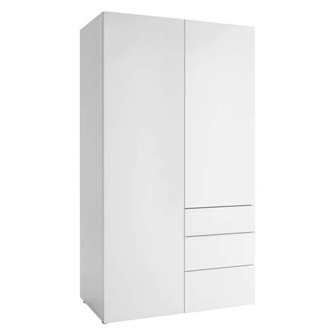 Buy White Wardrobe by Top 30 Of 2 Door Wardrobe With Drawers And Shelves