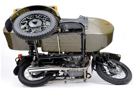 Ural Patrol W/sidecar. Notice Drive Axle To Sidecar Wheel