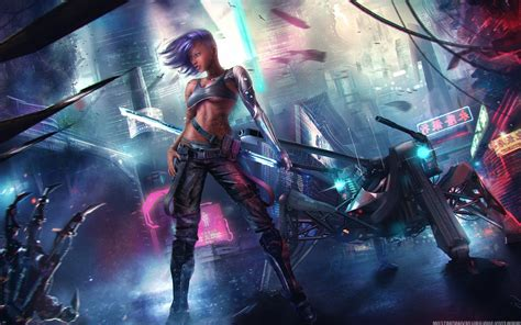 Asian Anime Wallpaper - asian cyberpunk hd 4k wallpapers images