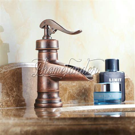 centerset antique copper finish rustic single handle brass