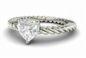 Engagement rings heart shaped wedding rings for women for Heart shaped wedding rings