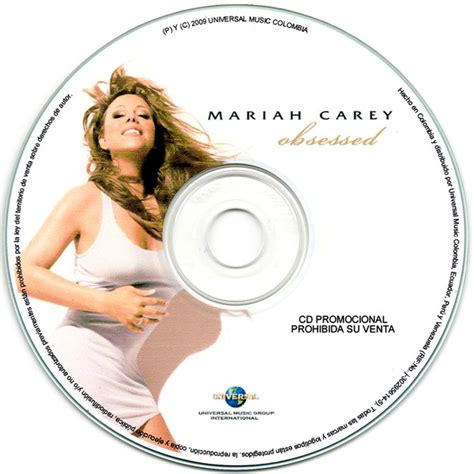 Mariah Carey - Obsessed (2009, CDr)   Discogs