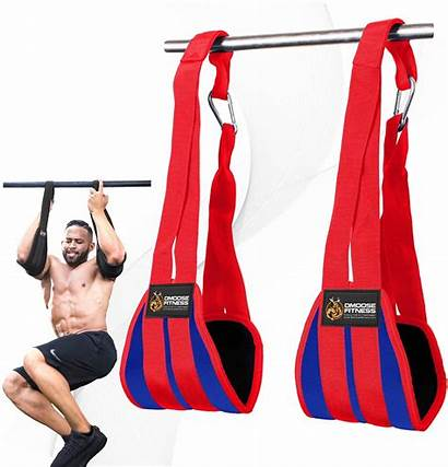 Ab Hanging Straps Dmoose Fitness Muscle Building