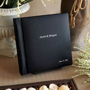 personalized leather photo albums custom made wedding albums personalized wedding photo