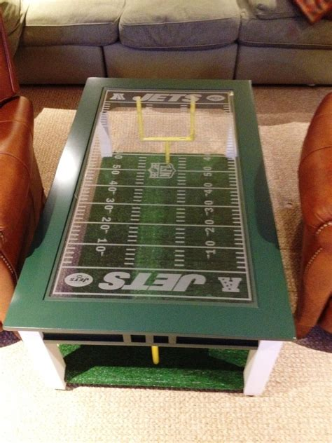 Hand Made Football Fan's Coffee Table by Impressive