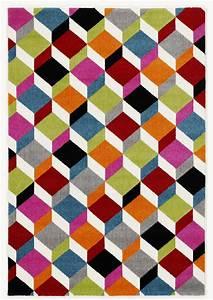 Teppich Bunt Modern : teppich multicolor designer 005 modern bunt 140x200cm ebay ~ Frokenaadalensverden.com Haus und Dekorationen