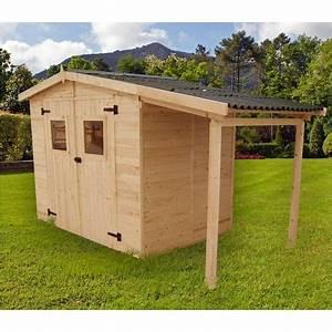 abri de jardin bois kalvia 370 m2 pas cher a prix auchan With maison en rondin prix 16 haut vent bois pas cher