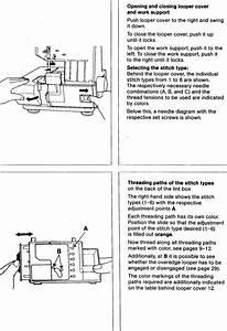 Pfaff 797 Hobbylock Sewing Machine Threading Diagram