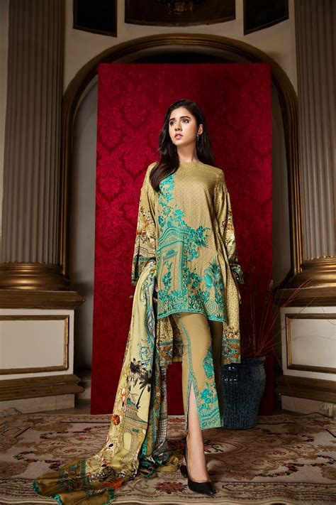 buy  ittehad embroidered winter collection