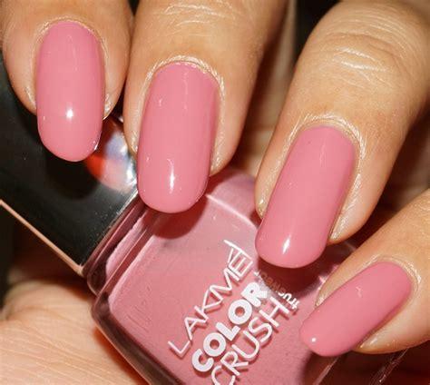 pink nail paint corallista