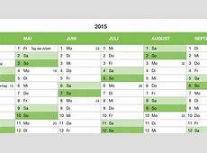 Numbers Vorlage Kalender 2015 Ganzjahr Numbersvorlagende